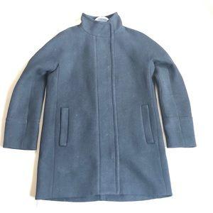 J.crew wool black coat SZ 6